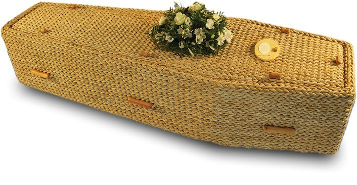 Natural coffin